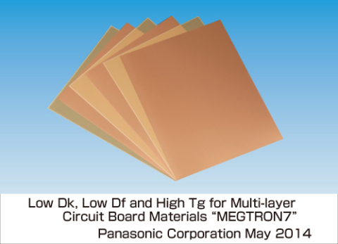 "Panasonic's Multi-Layer Circuit Board Materials ""MEGTRON7"" (Photo: Business Wire)"