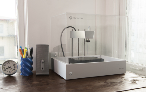 New Matter's WiFi-Connected MOD-t 3D Printer Launches on Indiegogo to Bring High-Quality, Easy-to-Use 3D Printing to Everyone - Starting at $149 (Photo: Business Wire)