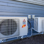 At 30.5 SEER (Seasonal Energy Efficiency Ratio), the highest efficiency rating for heating and air-conditioning systems, the H2i® MSZ-FH models are the most efficient way to cool and heat a home. (Photo: Business Wire)
