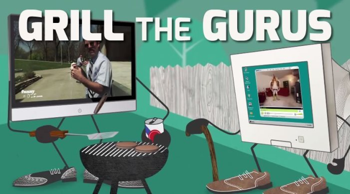 """The 2014 Reel Video Summit to be held July 24-25 in San Francisco will feature a new session called """"Grill the Gurus."""" (Graphic: Business Wire)"""