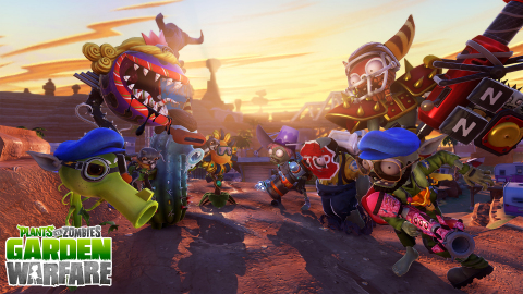 Plants Vs. Zombies Garden Warfare on PlayStation (Graphic: Business Wire)