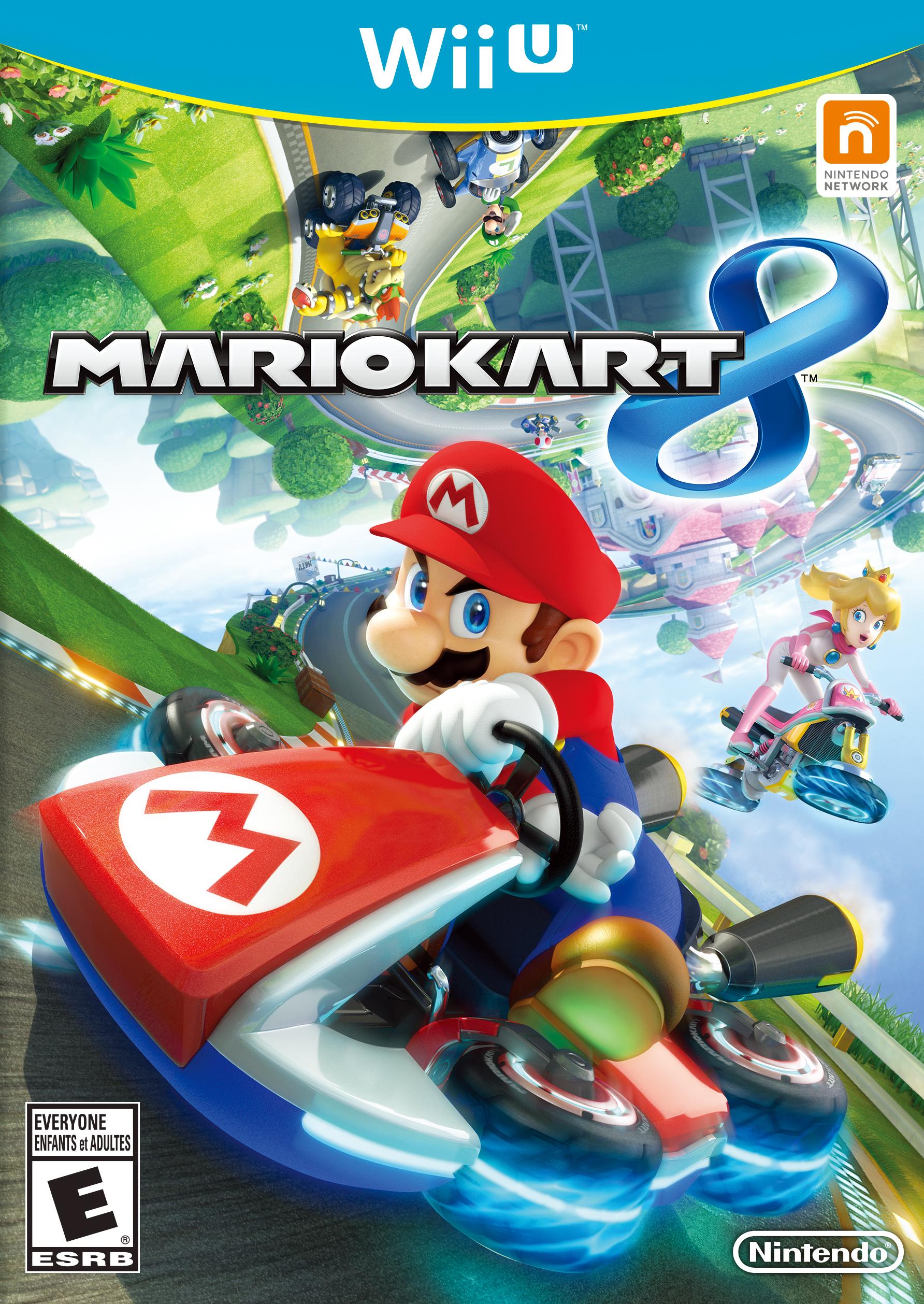 Mario Kart 8 Box Art (Photo: Business Wire)