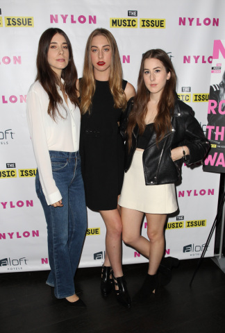 NYLON x Aloft Hotels Celebrate The Music Issue With Cover Star HAIM (Photo: Business Wire)