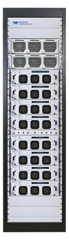From Teledyne Paradise Datacom, PowerMAX™, the new SSPA standard in high power redundant amplifier systems. (Photo: Business Wire)