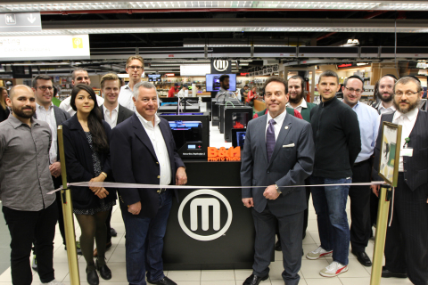MakerBot and B&H SuperStore in New York City launched a MakerBot 3D Printer store-within-a-store con ...