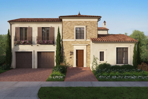 Trevi at Orchard Hills: extraordinary opportunity to reside in a European-inspired hilltop estate (Photo: Business Wire)