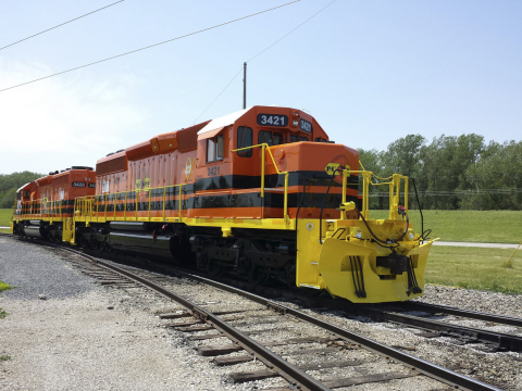 Rapid City, Pierre & Eastern Railroad, Inc. has completed the acquisition of the west end of the Dakota, Minnesota & Eastern rail line from Canadian Pacific and commences freight service June 1. (Photo: Business Wire)