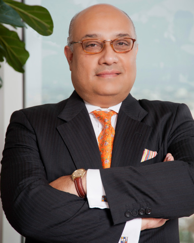 Noor Menai, President & CEO of CTBC Bank USA, in his Los Angeles office (Photo: Business Wire)