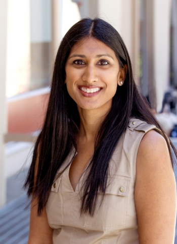 Rajashree Koppolu, CPNP, a nurse practitioner at Lucile Packard Children's Hospital Stanford, educates parents and families with small children about the danger of open windows. (Photo: Business Wire)