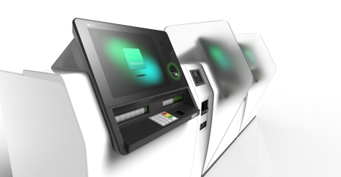 NCR Interactive Banker deepens branch customer service through tablet-based teller software synced to kiosk. (Photo: Business Wire)