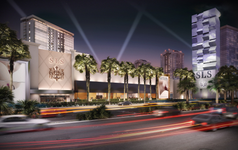 The SLS Las Vegas Hotel & Casino will be one of the first hotels to join Curio - A Collection by Hilton. (Photo: Business Wire)