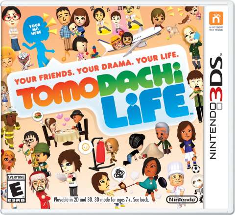 Tomodachi Life for Nintendo 3DS systems releases June 6, 2014 (Photo: Business Wire)