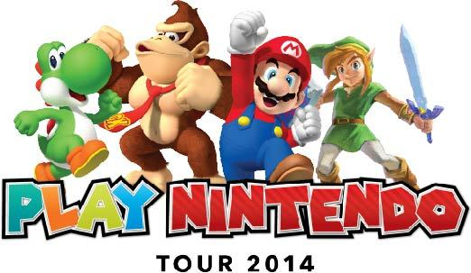 Play Nintendo Tour 2014 will showcase Nintendo's latest hand-held, Nintendo 2DS, in an immersive gaming playground for kids of all ages (Photo: Business Wire)