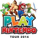 Play Nintendo Tour 2014 kicks off on June 6 in Los Angeles and travels to a dozen major U.S. cities (Photo: Business Wire)