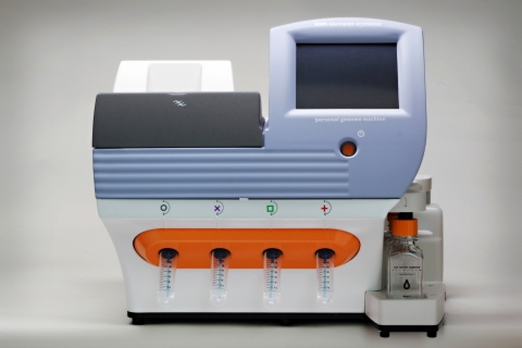 The Life Technologies Oncomine Cancer Research panels, running on the Ion Torrent Personal Genome Ma ...