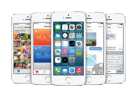 Apple unveils iOS 8, the Biggest Release Since the Launch of the App Store. (Photo: Business Wire)