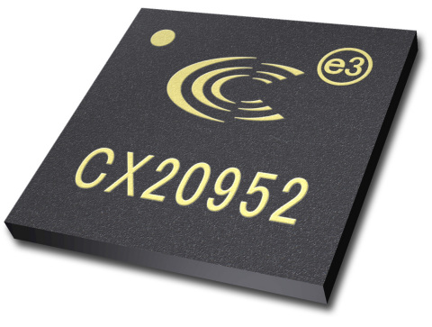 The CX20952 is a new HD audio CODEC from Conexant that enables high quality audio on computers and t ...