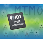 IDT Announces Low-Power IF Modulator for Next-Generation Wireless Communications (Graphic: Business Wire)