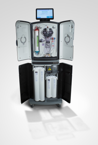 The VIVIA haemodialysis system, which completed the CE marking process in Europe in December 2013, w ...