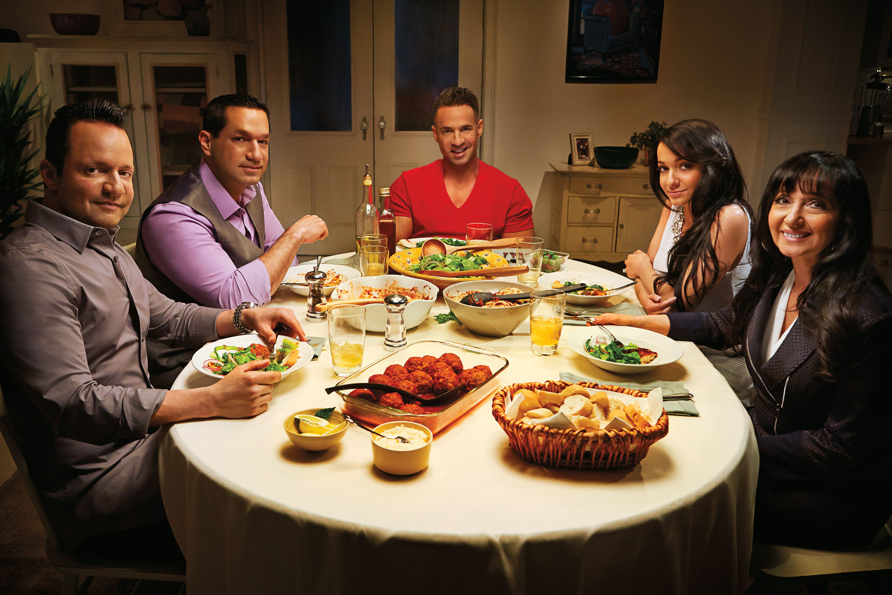The Sorrentinos- Premiering on July 15, 2014 on TVGN (Photo: Business Wire)