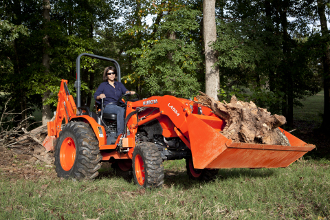 Kubota Tractor Corporation introduces the B50-Series ROPS compact tractor models, the B2650 with 19.5 PTO horsepower and the B3350 and B3350SU with 27 PTO horsepower - the highest PTO for a B-series tractor. (Photo: Business Wire)
