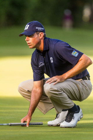 Matt Kuchar wearing Skechers GOgolf at the Crowne Plaza Invitational at Colonial qualifiers (Photo: All Sports Digital Media)