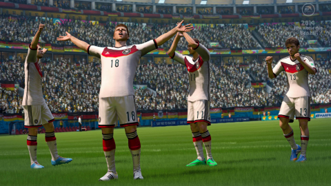 EA SPORTS Predicts Germany to win 2014 FIFA World Cup (Graphic: Business Wire)