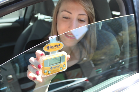 The oti EasyPark solution allows drivers to skip using parking meters and pay only for time used.  ( ...
