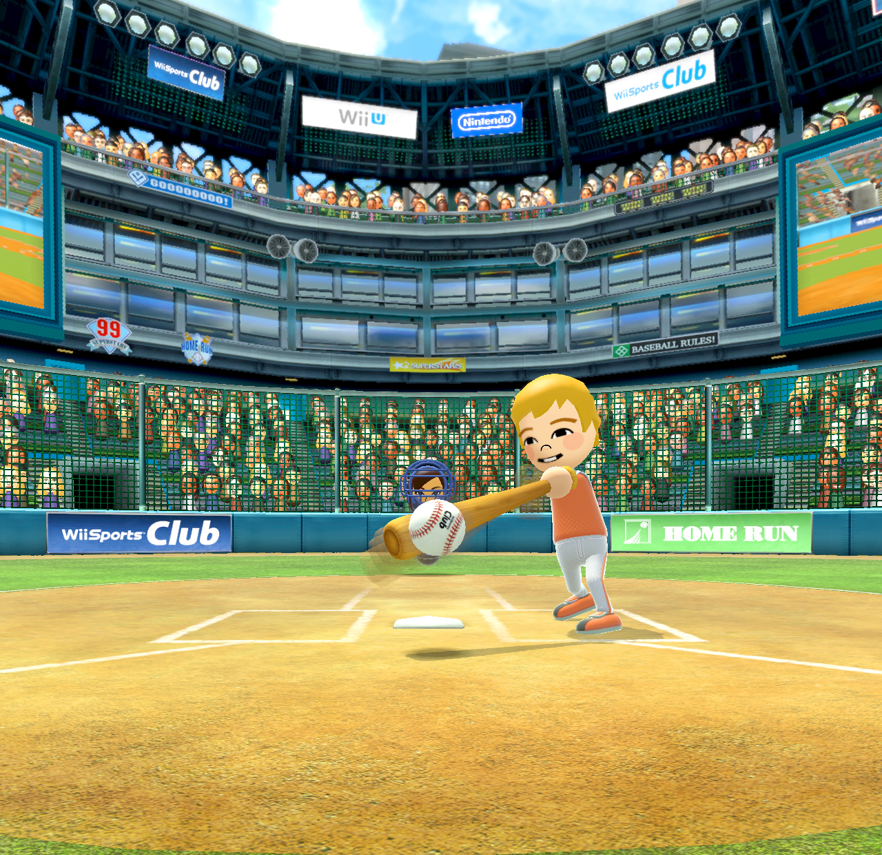 Wii Sports Club feels like a new experience, with the addition of crisp high-definition graphics and Wii MotionPlus technology, as well as creative uses of the Wii U GamePad. (Photo: Business Wire)