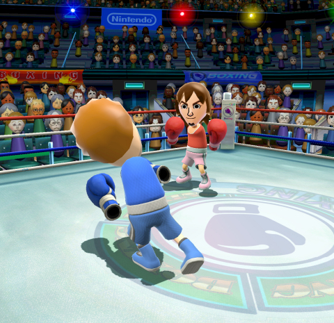 Gamers from all over the country who own the game and have a broadband Internet connection can play Wii Sports Club together. (Photo: Business Wire)
