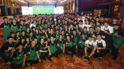 Starbucks China hosted the first Partner Family Forum in Guangzhou where more than 1,200 partners an ...