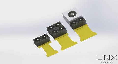 """Three array camera module design configurations for mobile devices, each having its unique properties and introducing new features."" (Photo: Business Wire)"