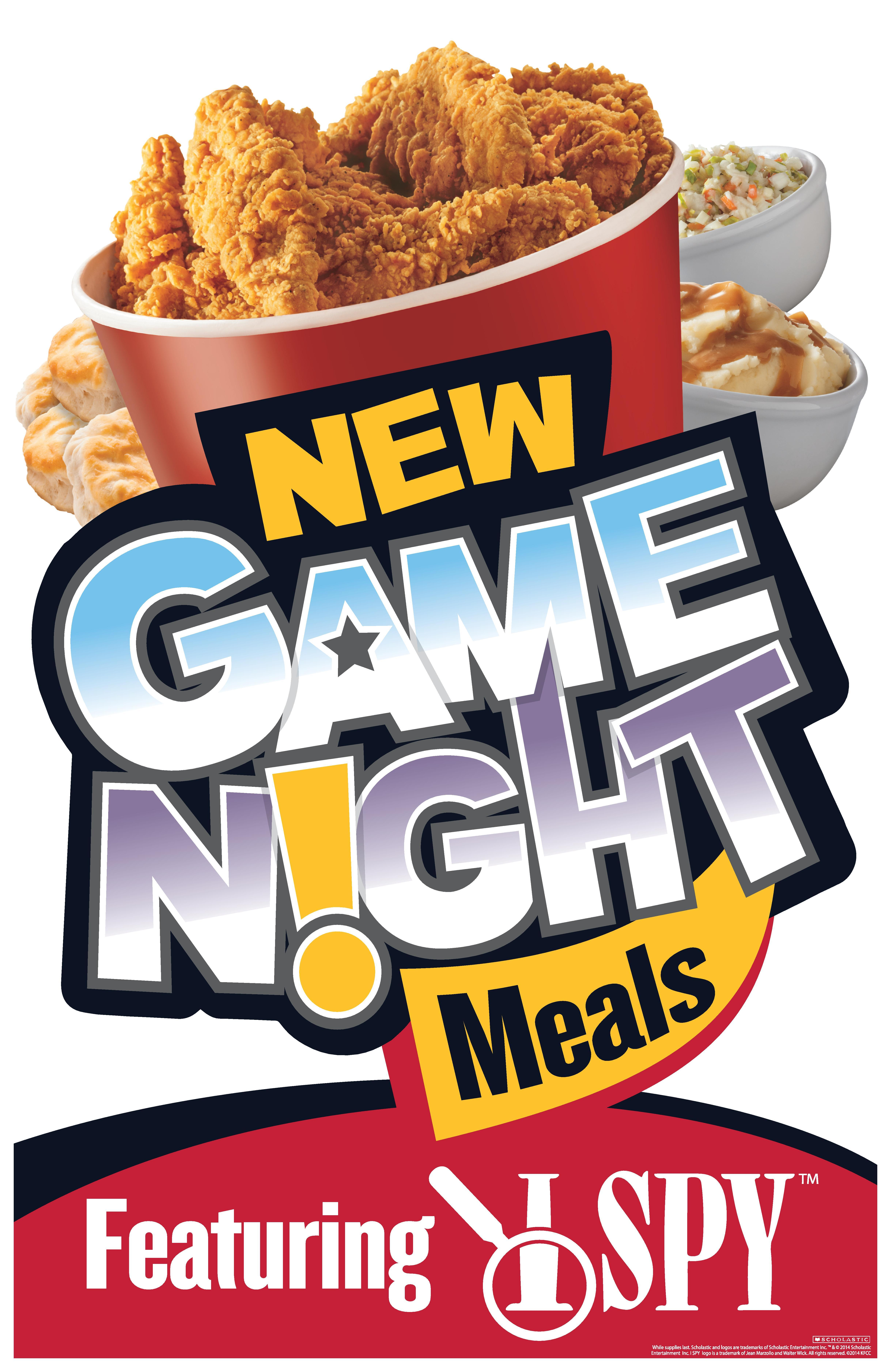 kfc brings families together over dinner with game night bucket