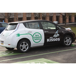 Hershey's electric car fleet is one of many environmental initiatives. (Photo: Business Wire)