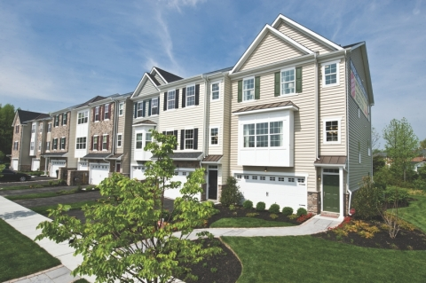 Townhomes at Mercer Court (Photo: Business Wire)