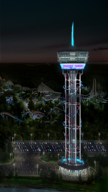 """Video Animation of World's Tallest Rollercoaster and Entertainment Complex """"The Skyscraper™ at SKYPLEX™"""" Coming to the Orlando Skyline in 2016."""
