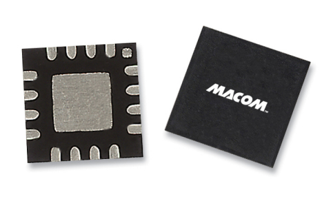 MACOM Introduces a New Broadband Low Noise Amplifier for Use in 22-38 GHz Applications (Photo: Business Wire)