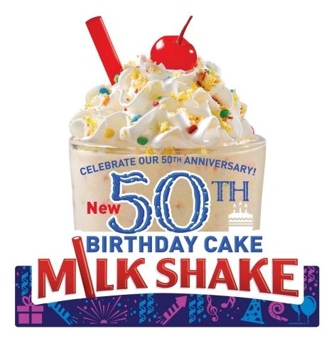 Huddle House Birthday Cake Milk Shake (Photo: Business Wire)