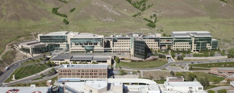 Huntsman Cancer Institute today broke ground on its new 220,000 square foot cancer research building. (Photo: Business Wire)