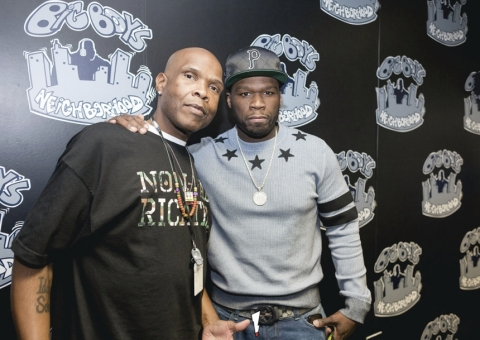 Power 106's Big Boy and 50 Cent Make $10,000 Bet! (Photo: Business Wire)