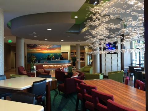 Lobby of Springhill Suites in Anaheim (Photo: Business Wire)
