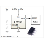 Seiko Instruments Inc.: Voltage Detector with SENSE Pin for Automotive Use (Graphic: Business Wire)