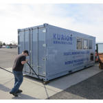 Container is part of the Kurion Mobile Processing System that will be used at the Fukushima Daiichi Nuclear Power Plant to remove strontium from approximately 400,000 metric tons of tank water stored at the site. (Photo: Business Wire)