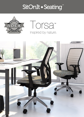 SitOnIt Seating Torsa Chair (Photo: Business Wire)