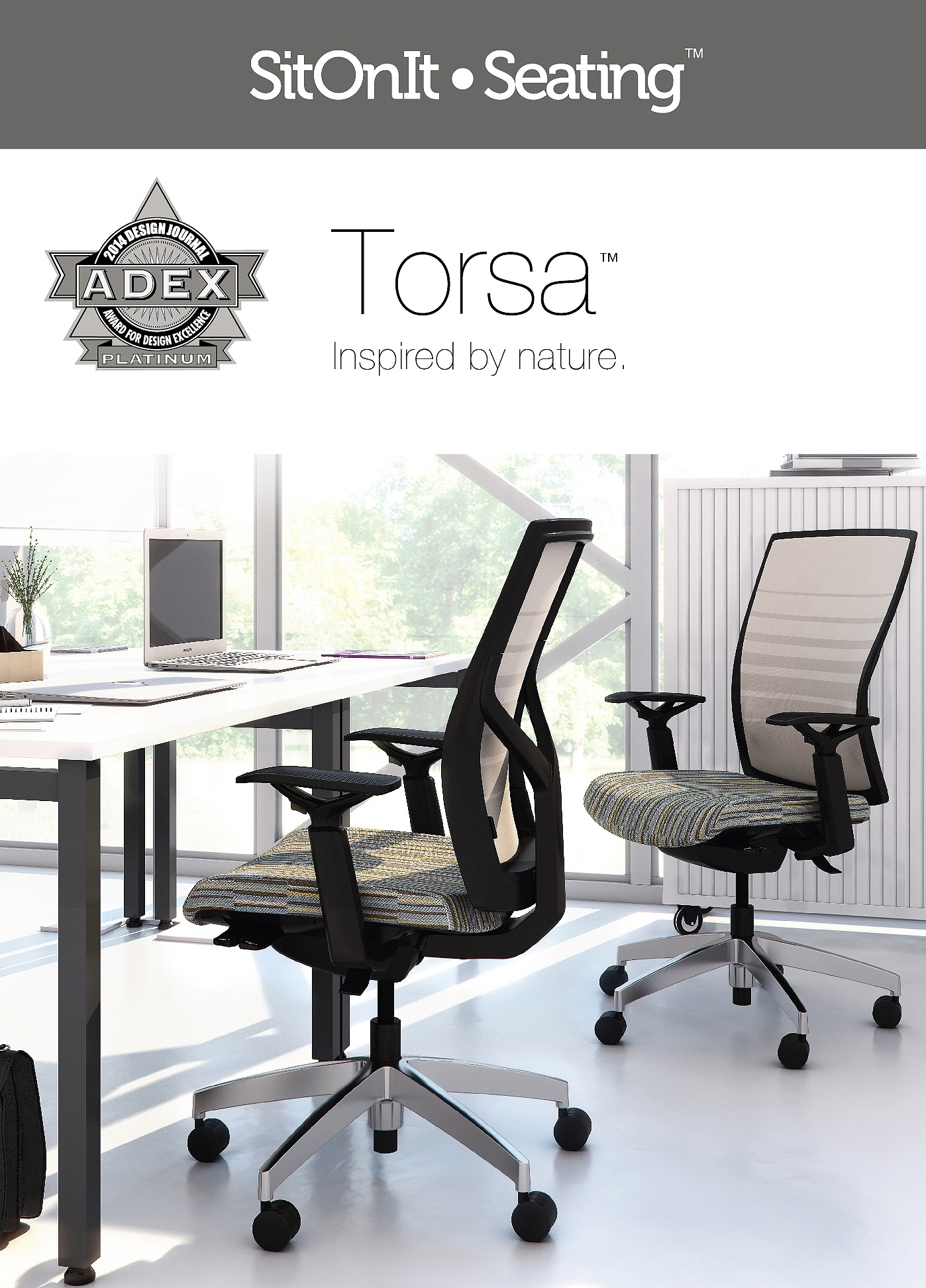 Sit It Seating Garners Three 2014 Awards for Design Excellence