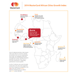 2014 MasterCard Cities Growth Index: Accra named African city with highest potential for inclusive growth. (Graphic: Business Wire)