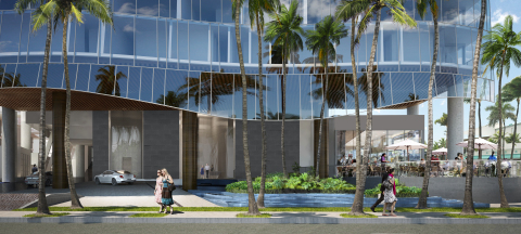 Waiea Streetscape Rendering (Photo: Business Wire)