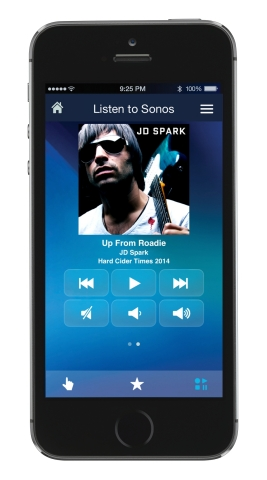 Control playback and volume of your Sonos wireless speakers directly from the Logitech Harmony Ultim ...