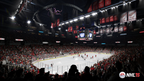 Authentic Arenas in NHL 15 (Graphic: Business Wire)