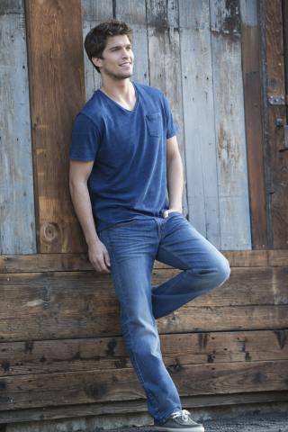 Wrangler Jeans Co.(R) RED, a collection of jeans, twills and shirts designed for style conscious millennial men who want their clothing at an affordable price: around $20. (Photo: Business Wire)